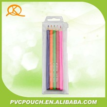 Factory Cheap PVC Clear Plastic Bags packaging Marker Pen