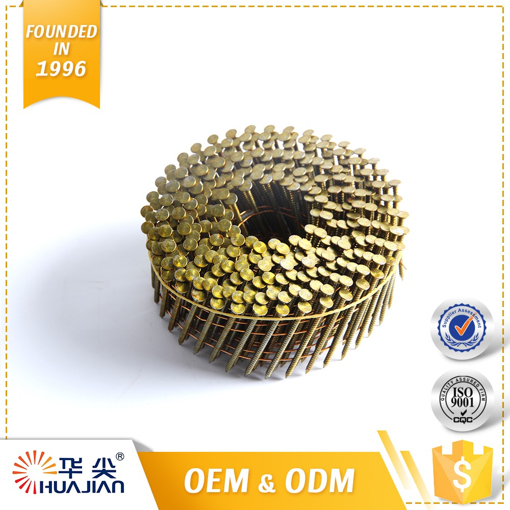Hot Sell Promotional Roof Nails Coils Clavo En Rollo Coil Nail
