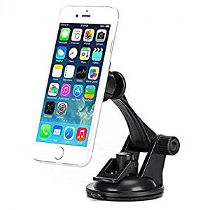 Motorola Moto Z Force Droid Compatible Premium Car Mount Magnetic Dash Windshield Holder Stand Window Glass Swivel Dock Strong Grip Adjustable Suction