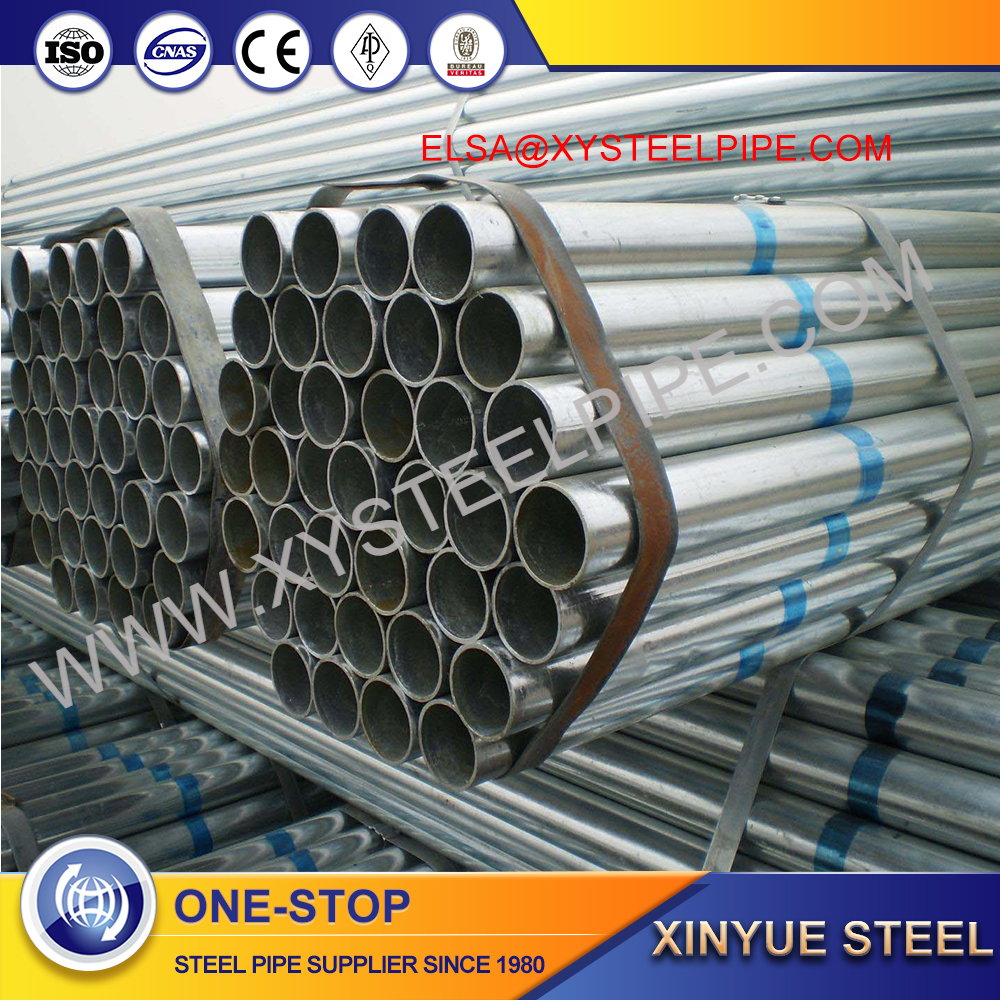 Tianjin ASTM A53 A500 BS1387 GRADE B CARBON STEEL PIPE WITH LACQUER PROTECTION