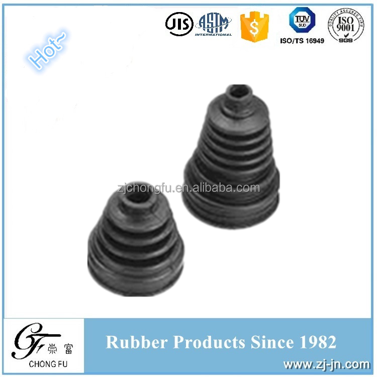 CR/PTEE Custom Factory Direct Sale Auto Parts Rubber Dust Guard