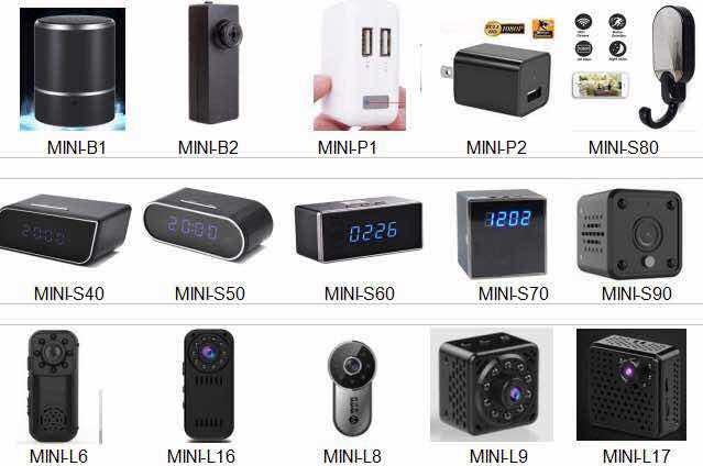 ミニピンホールデジタルビデオレコーダー HD 1080 p 車のキー盗