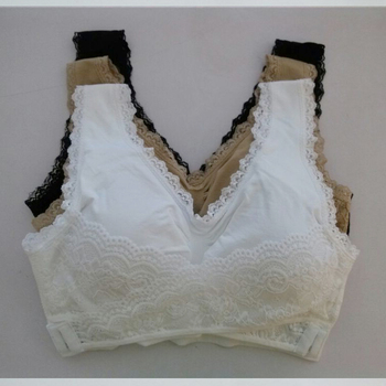 e3570b554 Ladies Sexy Spot Bra Lace Genie Bra With Pad As Seen On Tv - Buy ...