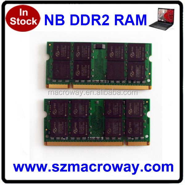 Lifetime warranty non ecc Ddr2 800 Laptop 4g Ram Memory