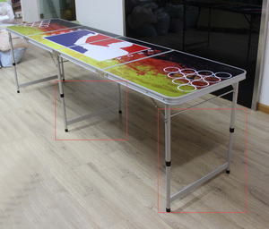 portable beer pong table with good quality