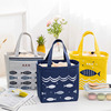 Drawstring Waterproof Insulation Cute Lunch Box Bag Tote Cooler Bag