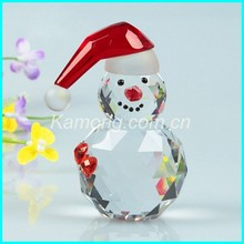 2016 Crystal snowman for christmas gifts