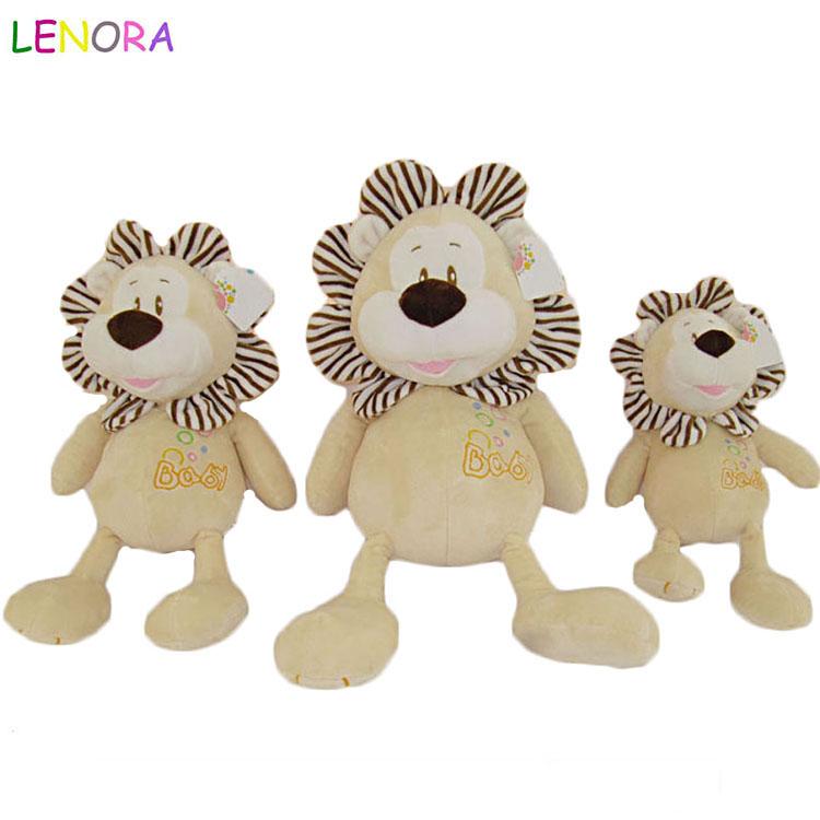 Plush Regular Soft Big-eyed Stuffed Animal Doll Toy Cute The Lion King Plush Toys Soft Stuffed Animals doll For Children Gift