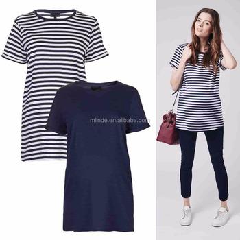 7ee579dc57762 Wholesale Blank Maternity T shirts Short Sleeve Plain Dyed Women Fashion  Clothing
