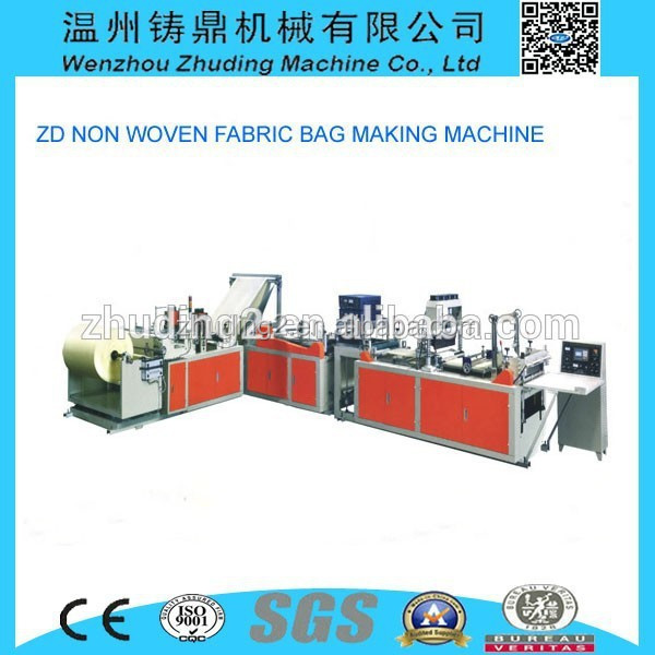 Wenzhou manufacture shopping bag making plant