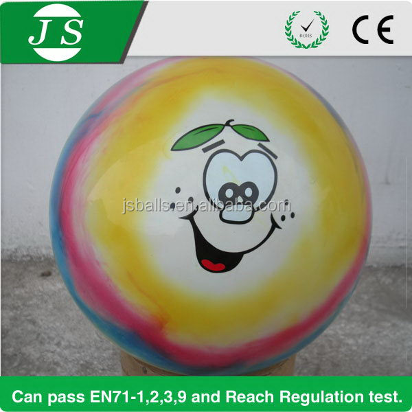 Top level newly design cloudy pvc ball