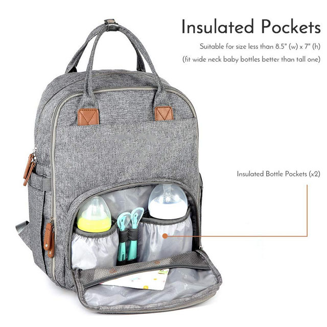 Multifunctional Baby Mummy Diaper Bag For Outdoor Travel