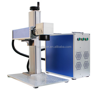 50w fiber laser marking machine stainless steel Min laser engraving machine
