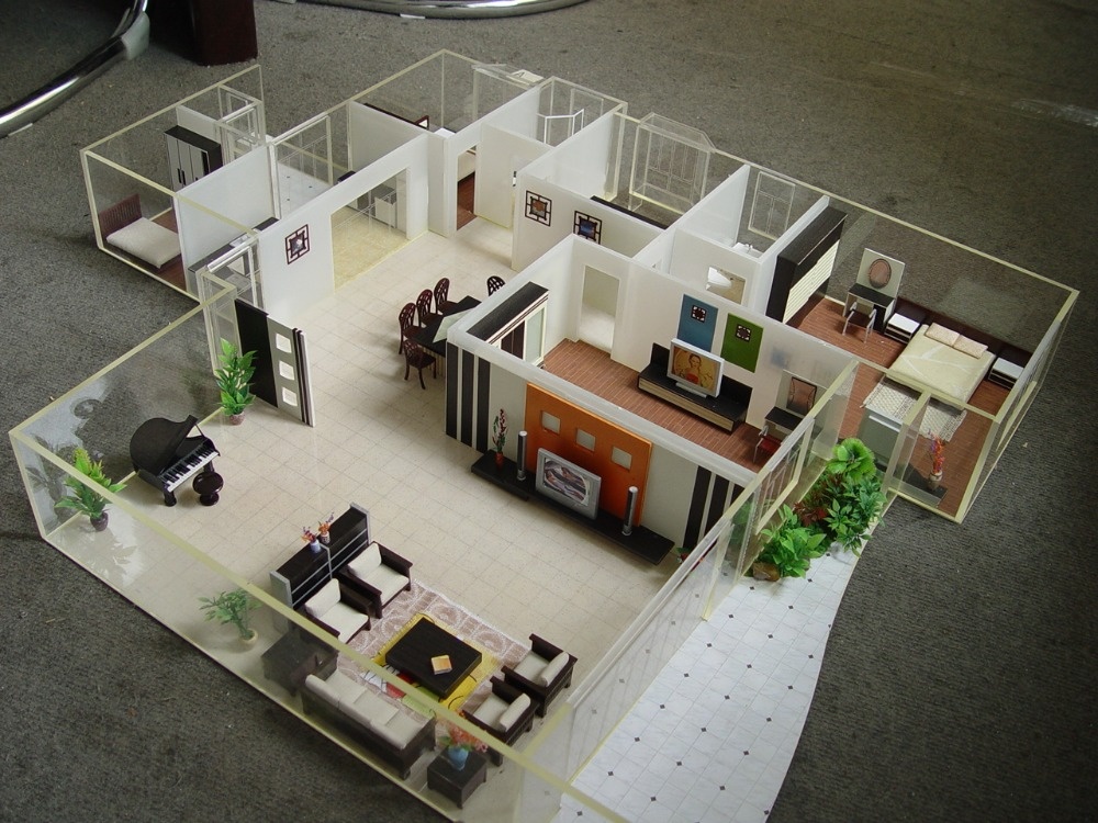 Internal layout of a house house decor for Model decoration maison