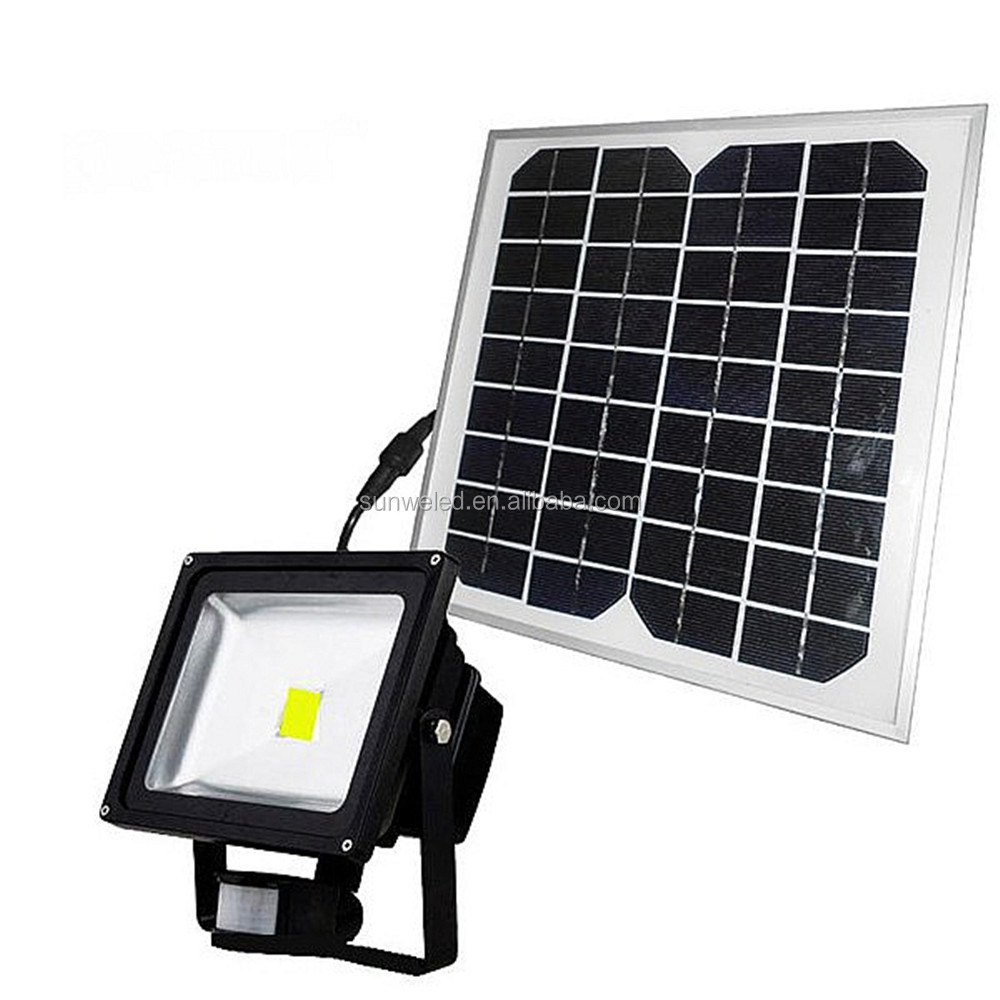 PIR Security Light with Motion Detector Sensor Solar 10w 20w 30w 50w