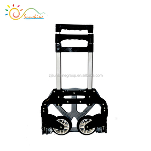 Best sell durable hand trolley carts with 80kgs load capacity