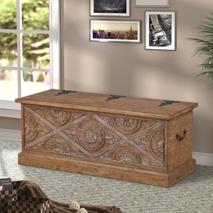 Antique new design hand carved solid wood console table