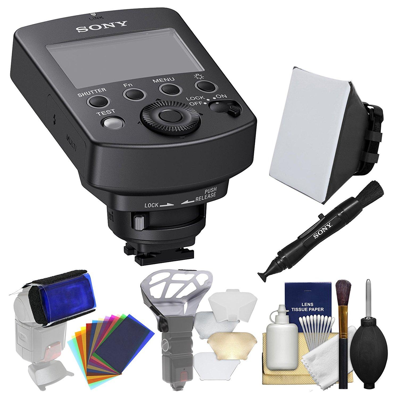 Sony FA-WRC1M Wireless Radio Commander with Soft Box + LensPen + Diffuser + Gel Filter Set + Kit