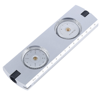 New Professional Aluminum Sighting Compass/ Clinometer Slope/height  Measurement Compass - Buy Sighting Compass,Compass With  Clinometer,Measurement