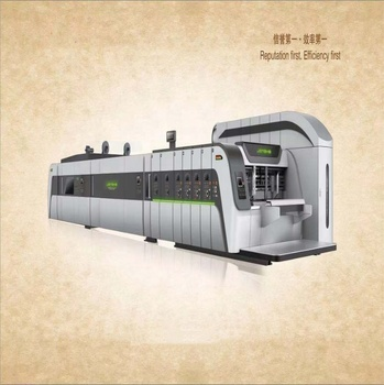 China Manufacturers Carton Box Making Corrugated Cardboard Printing machine