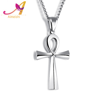 Aimeishi cross pendant man necklace titanium steel pendant man aimeishi cross pendant man necklace titanium steel pendant man pendant hanging ornaments life symbol necklace aloadofball Images