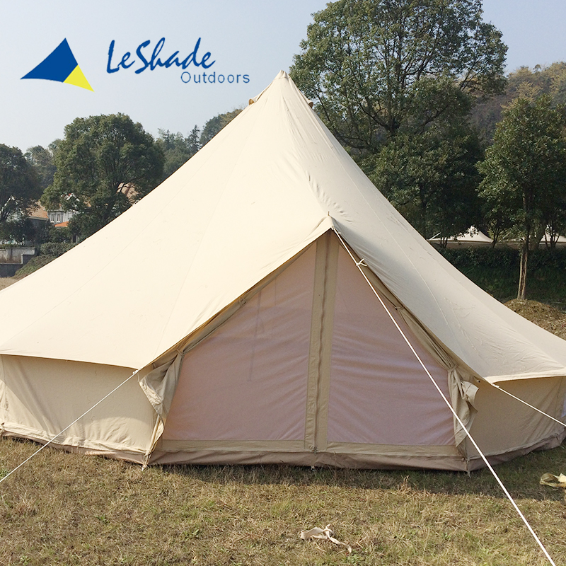Hot selling unique marquee adult teepee bell tent for big party