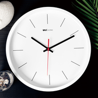Wholesale decorative plastic wall oem clocks