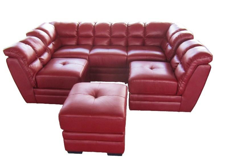 Cr ations de meubles en bois moderne pas cher coin sofa for Sofa sectionnel pas cher