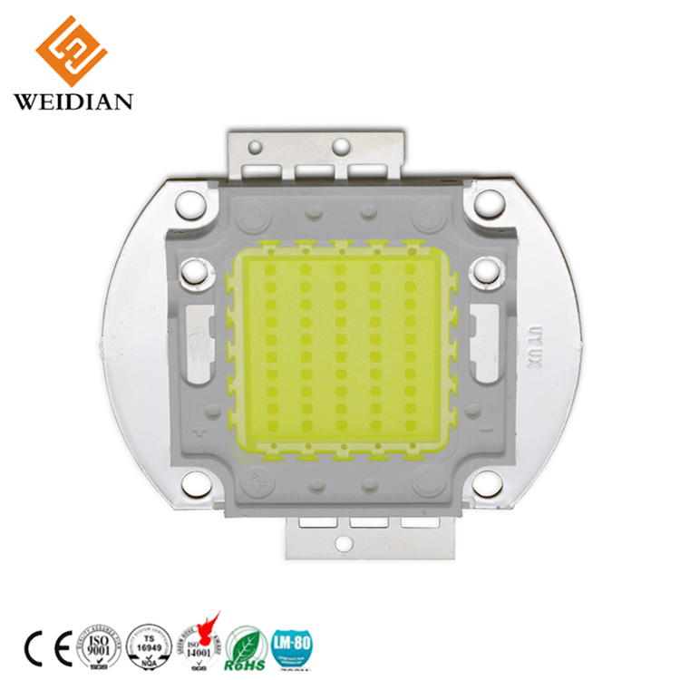 Specialty custom epistar led grow light cob 50w led chip