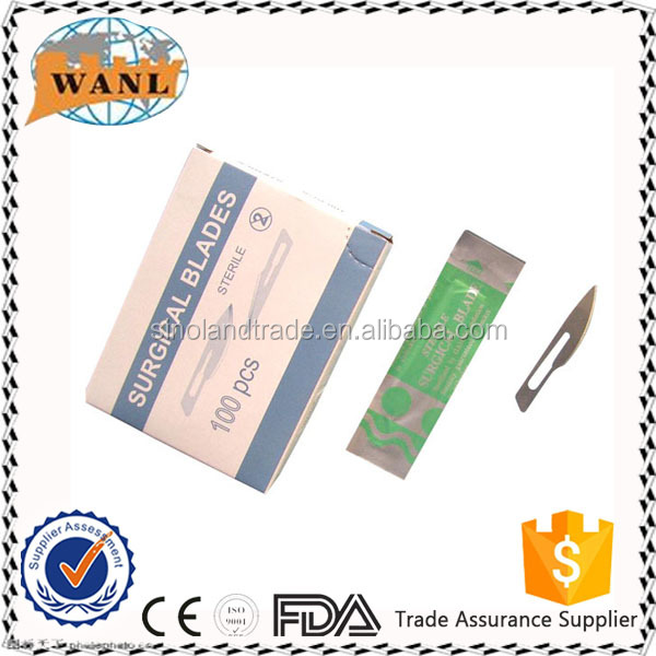 Disposable Stainless Steel Surgical Blades No.11