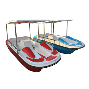 New Custom Water Pedalo Electric Pedal Boat Amusement Park Equipment