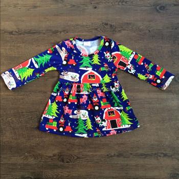 christmas dresses for children little girl boutique dress wholesale children clothing usa