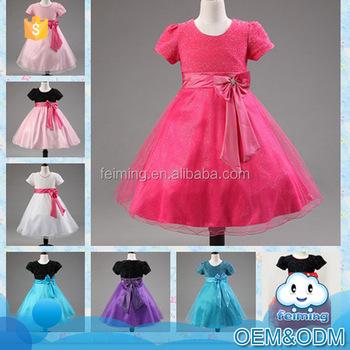 2016 China Lieferant Kinder Kleidung Bow-knot Gürtel Prinzessin ...