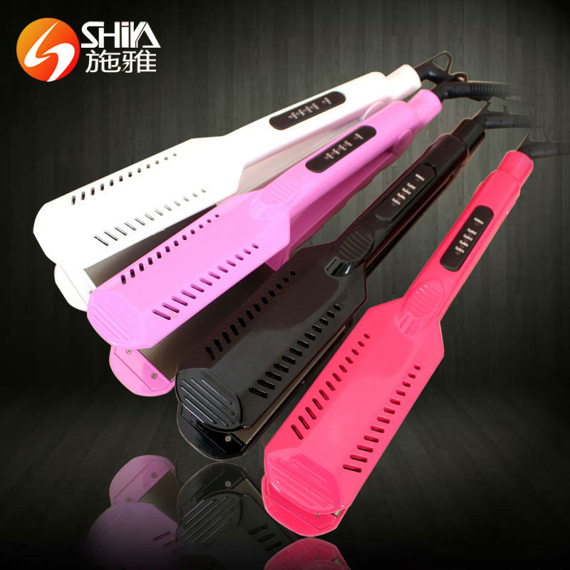 china LED display personalized hair straighteners 240v new hair flat iron with five teeth and seven teeth SY-9909