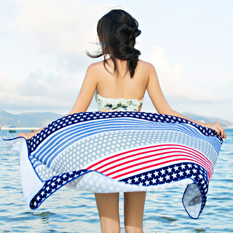 Wholesale Custom Printed Microfiber Beach Sports <strong>Towel</strong> With Logo