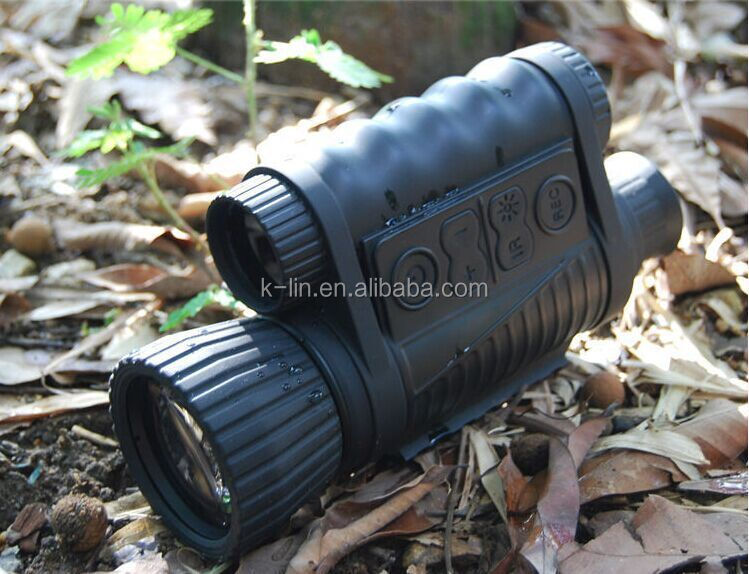 Military Laser Night Vision Range Finder Multifunction Infrared Night Vision Telescope Distance 5x60mm