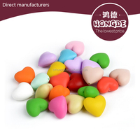 2017 hot food grade silicone rubber bead necklace bracelet jewelry beads Silica gel bead