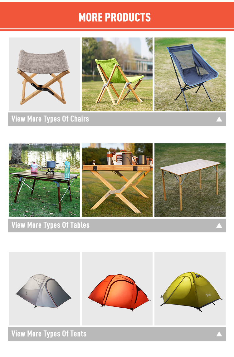 Table et chaise de camping, nouvel ensemble de pique-nique en plein air, épaissi, compact avec support en maille en nylon
