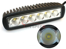 "Super <span class=keywords><strong>cool</strong></span> 18 w auto led verlichting, 6 ""led licht bar gebruikt japanse mini vrachtwagens in China voor auto"