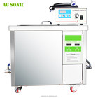 360L Ultrasonic Carburetor Cleaner , Auto Parts Cleaner Machine With Oil Filter System