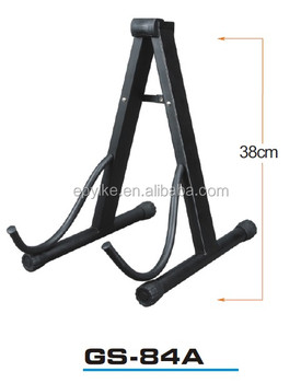 gs 84a professional guitar stand a frame guitar stand electric metal guitar stand buy. Black Bedroom Furniture Sets. Home Design Ideas
