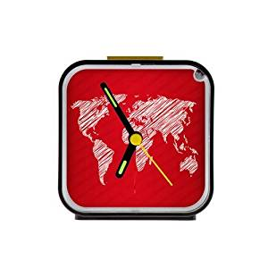 Buy fashion personalized vector world map with special sketch design fashion personalized vector world map with special sketch design picture square black alarm clock gumiabroncs Images