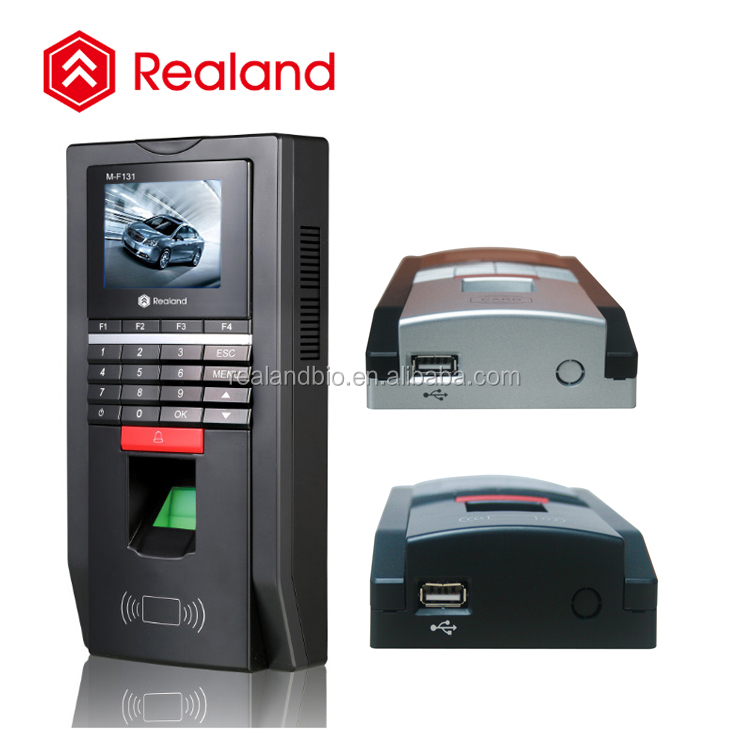 RFID Card + fingerprint verify door access control reader Realand M-F131