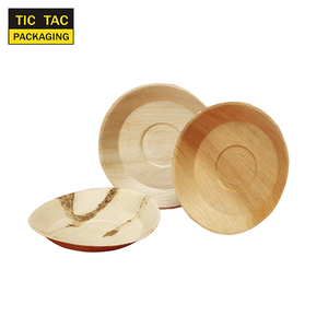 Disposable palm leaf Plates Tableware Eco Friendly Party plates