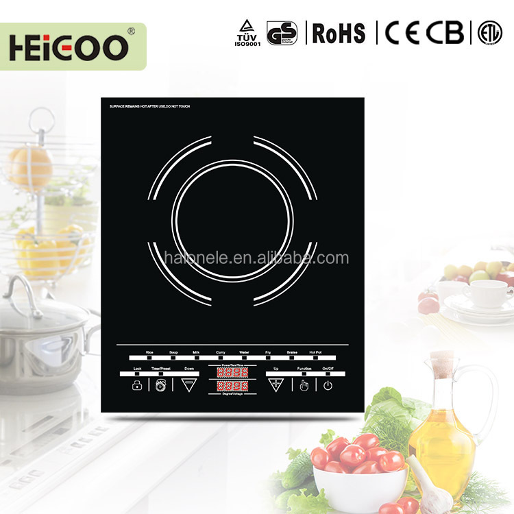crystal plate, new model touch control induction cooker plate