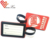 Hot sale standard rubber pvc luggage tag