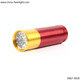 Small Aluminium 9 LED Flashlight led torch with lanyard or keychain ring