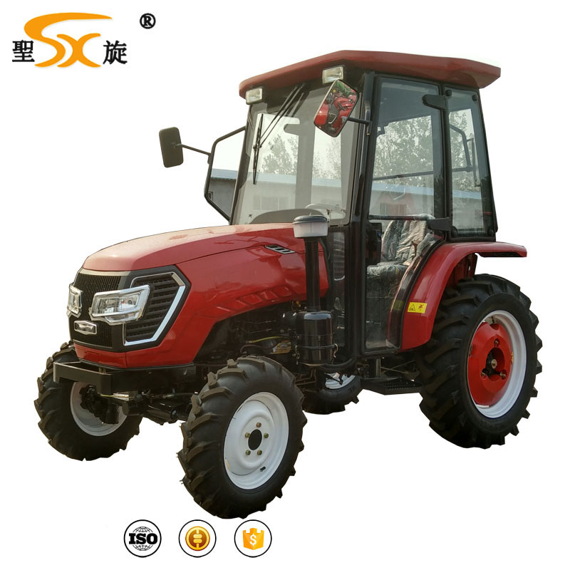 CE approved Chinese brand 50 55 hp 4wd mini farm tractor with cabin
