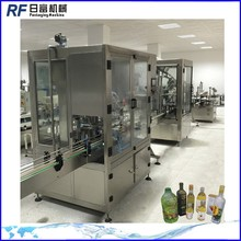 automatic soybean oil filling labeling machine line