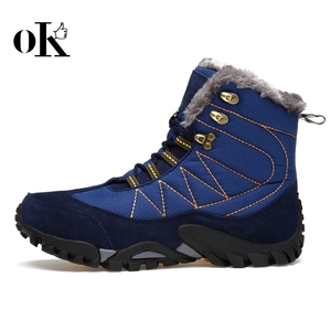 Winter latest warm outdoor OEM fashion casual boots mens shoes